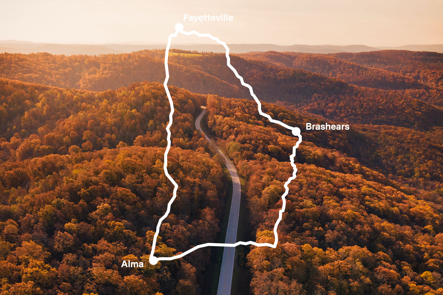 The Best Scenic Drive in the South is AR 23, The Pig's Tail