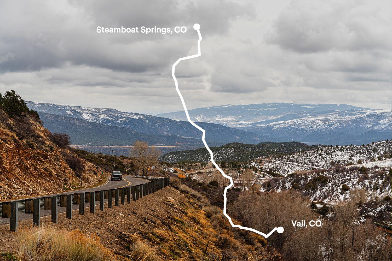 CO131 Outside of McCoy Colorado