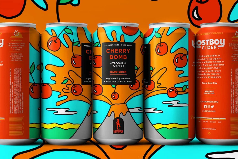 Lost Boy Cider's Cherry Bomb