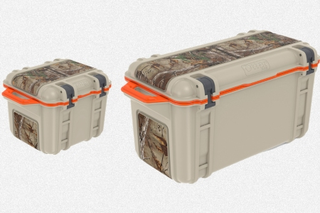 Two OtterBox Venture Coolers in 25 and 65 quart sizes