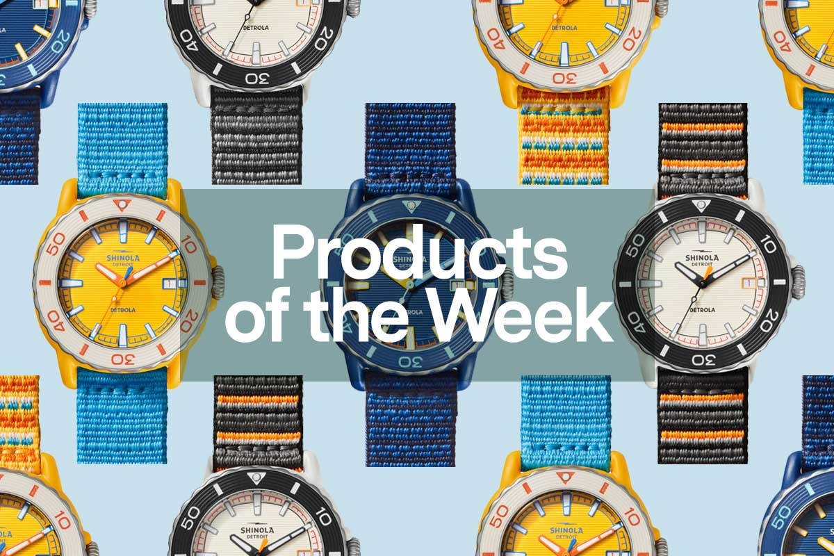 Products of the Week: Sea Creature Watches, Sport Polos and Colorful Tevas