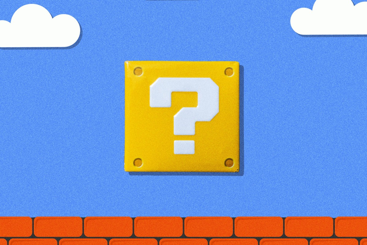 A question mark can be used to express divergent tones — and it isn't always used for questions.