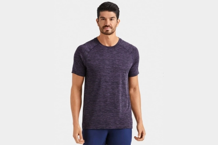 Rhone's Reign Tech Short Sleeve workout shirt for men