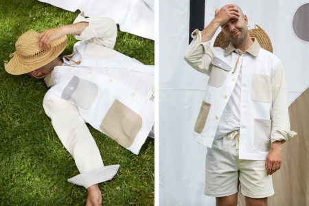 Alex Mill's Latest Collab Is Made Entirely From Recycled Fabric Scraps