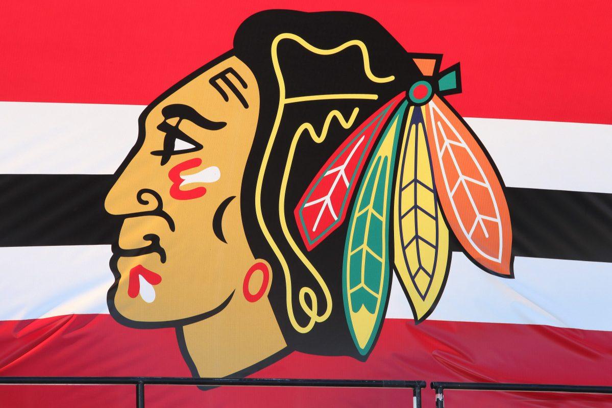 The Chicago Blackhawks logo. Ex-Chicago Blackhawk Files Lawsuit Alleging Sexual Assault by Assistant NHL Coach