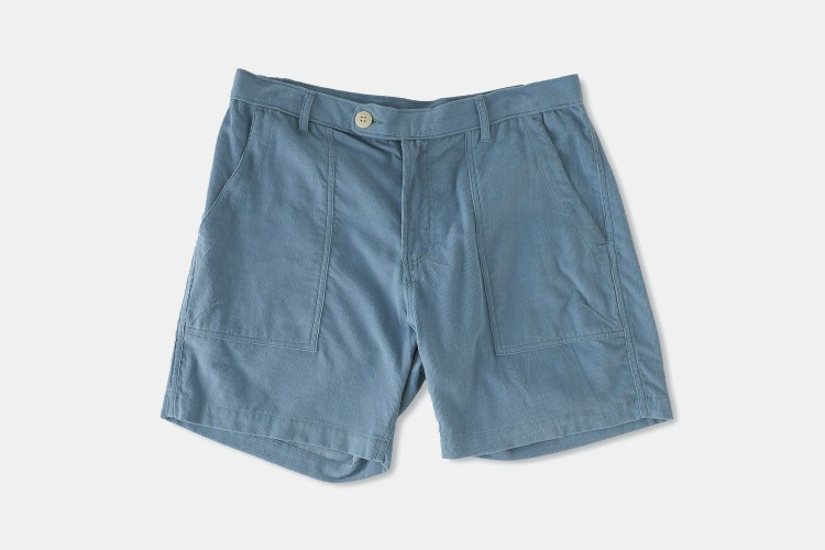Skip the chino shorts and go the corduroy route.