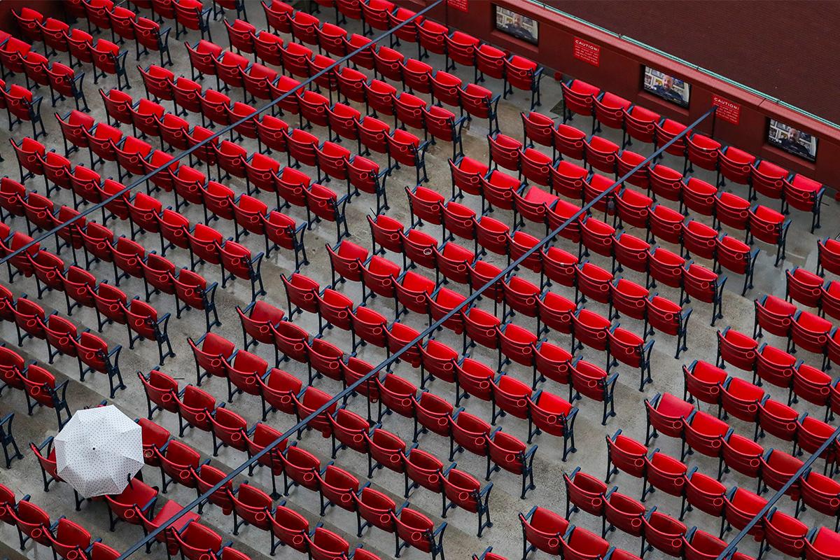 baseball game alone
