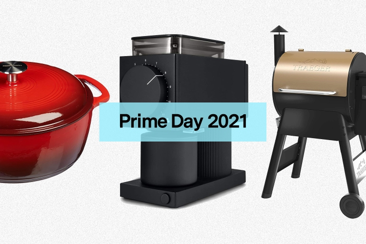 A cast iron Dutch oven, Fellow coffee grinder and Traeger grill on sale for Amazon Prime Day