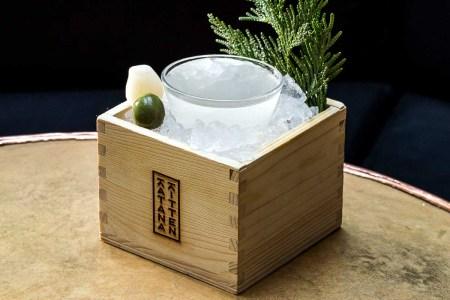 The Hinoki Martini at NYC's Katana Kitten is the ideal take on the saketini
