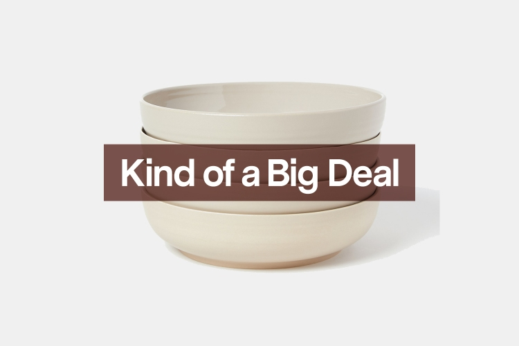 If you need an excuse to entertain, look no further than Hawkins' dinnerware.