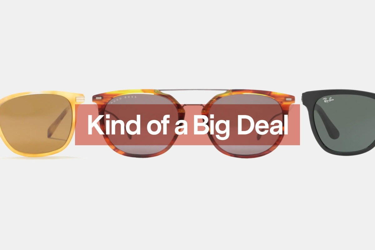 Stick to the classics or try something different at Nordstrom Rack's sunglasses sale.