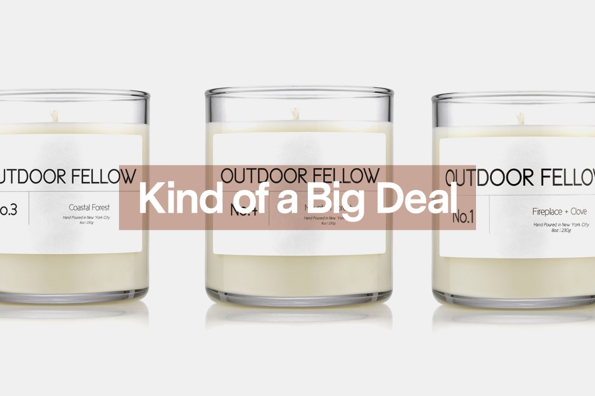 Hand poured candles that bring nature into your home.