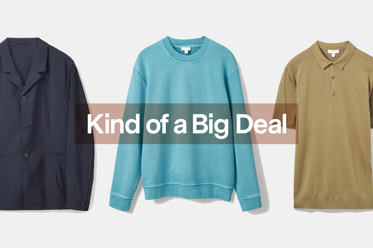 Menswear from COS on sale