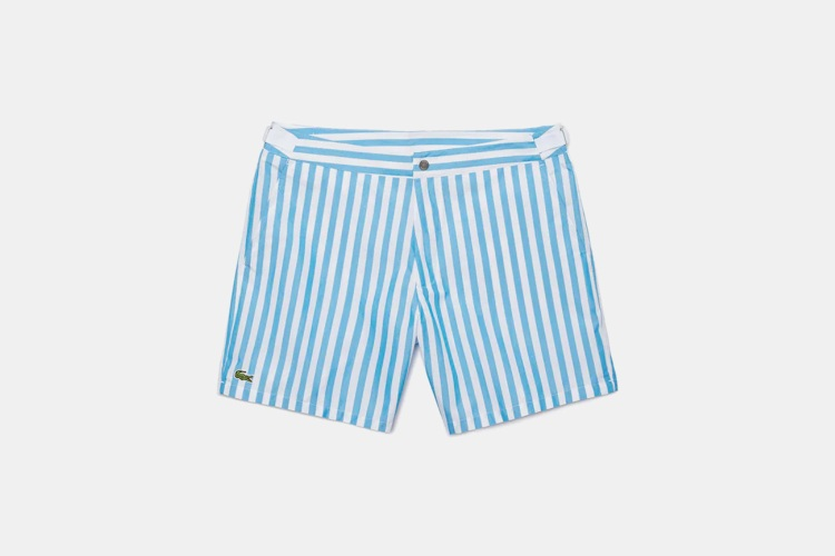 Deal: Swim in Style With These Lacoste Trunks, Now 30% Off
