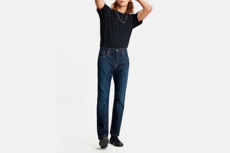 You can't go wrong with a classic pair of Levi's.
