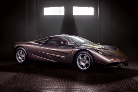 A 1995 McLaren F1, chassis 029, in Creighton Brown