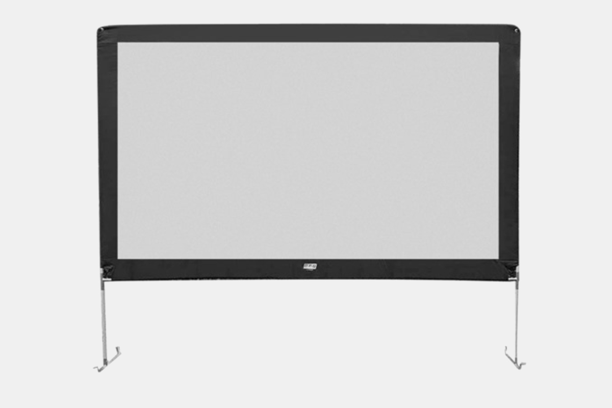 Outdoor movies screens are on sale for one day only at Woot.