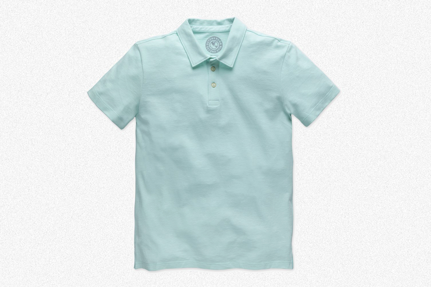 A light blue men's polo from Kelly Slater's brand Outerknown