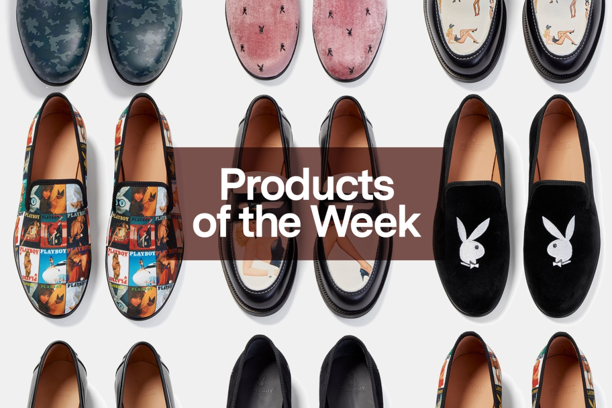 Products of the Week: Playboy Loafers, German Steel Knives and an In-n-Out Pool Float
