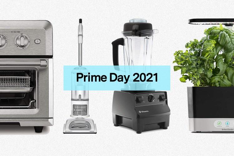 A Cuisinart AirFryer, Shark vaccum, Vitamix blender and AeroGarden on sale for Amazon Prime Day