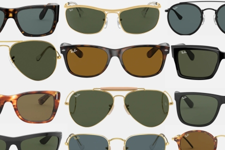 Ray-Ban's styles extend far beyond the Wayfarer and Clubmaster.