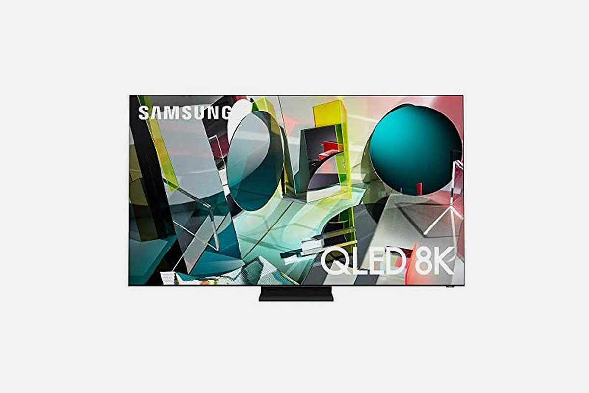 """An 85"""" 8K QLED TV set from Samsung, now on sale at Woot for one day only"""