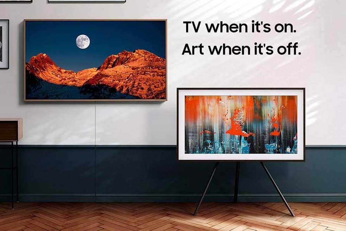 Samsung's The Frame is a TV set that doubles as a digital art display