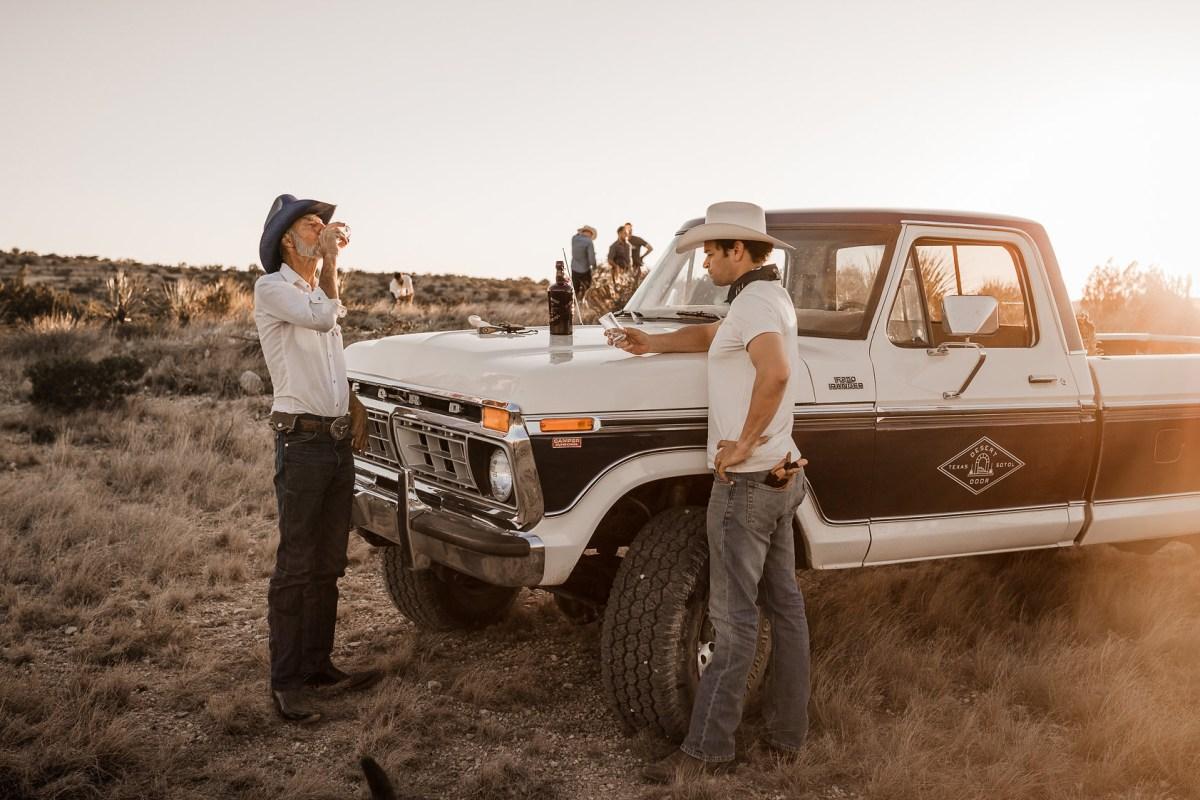 desert door sotol truck