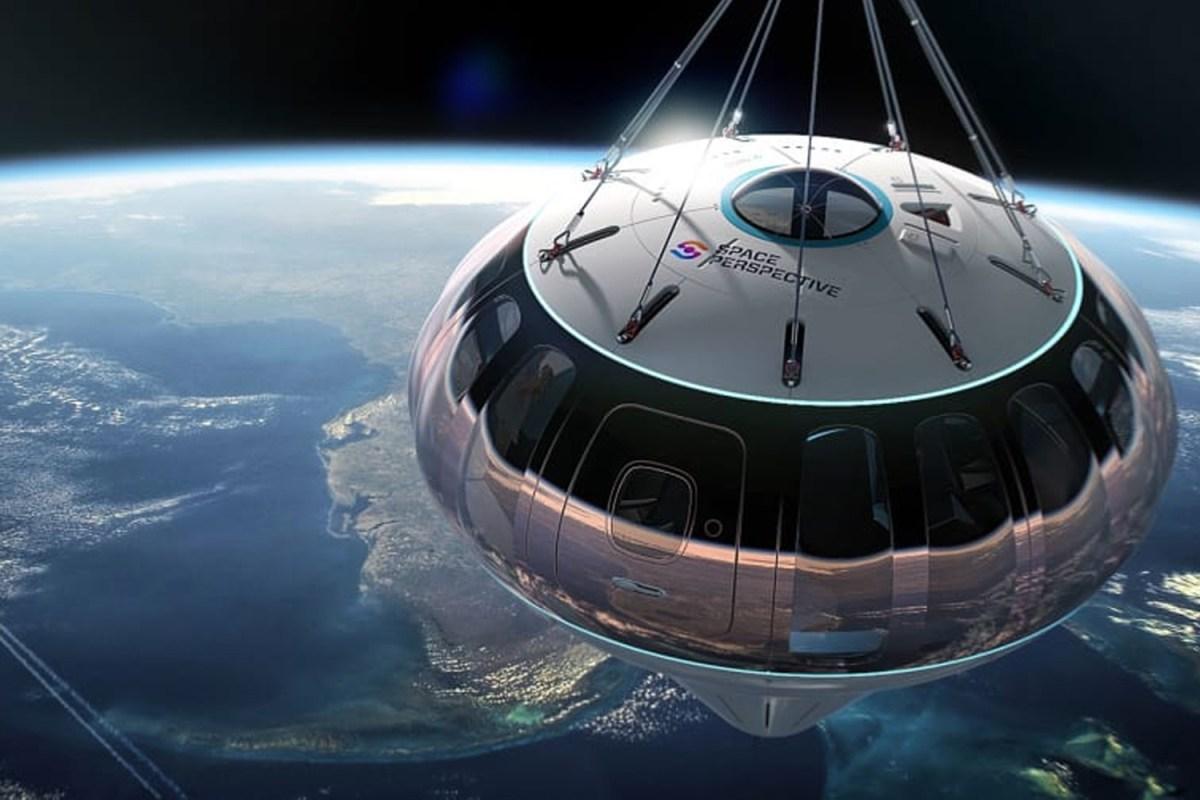 An artist's rendering of the Spaceship Neptune