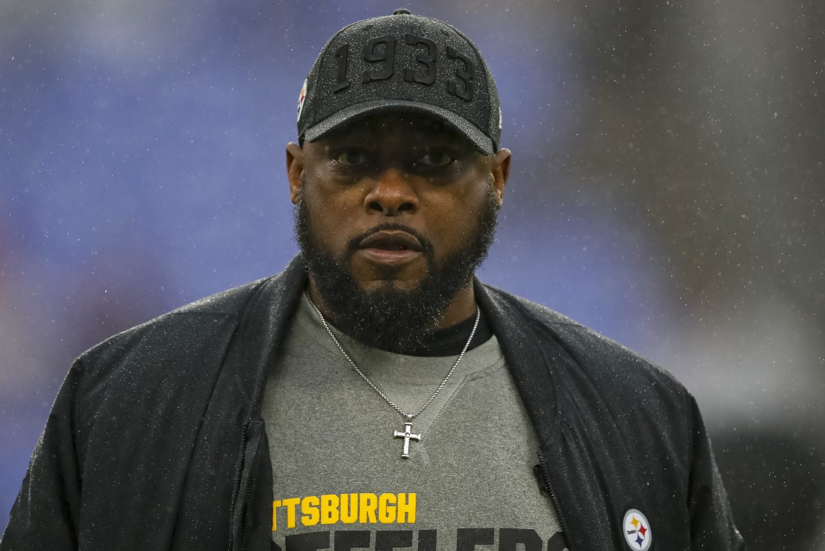 NFL coach Mike Tomlin of the Pittsburgh Steelers