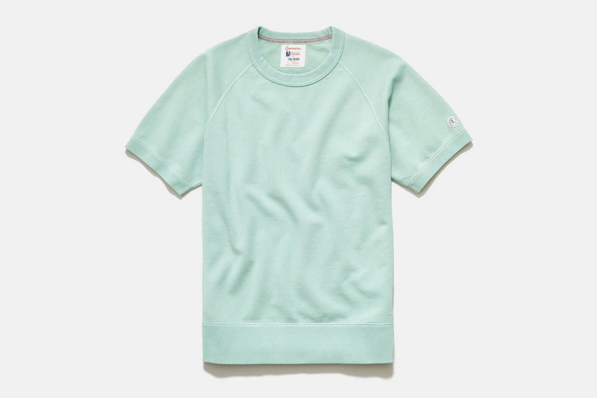 Deal: You Need a Short-Sleeve Sweatshirt. Todd Snyder's Is 21% Off.