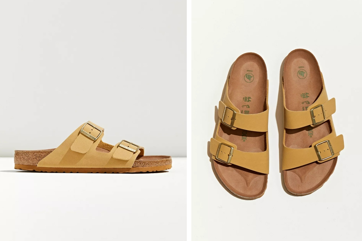 Deal: These Vegan Leather Birkenstocks Are $30 Off