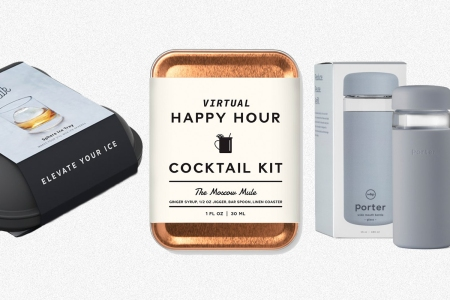 Ice trays, cocktail kits and bottles from W&P