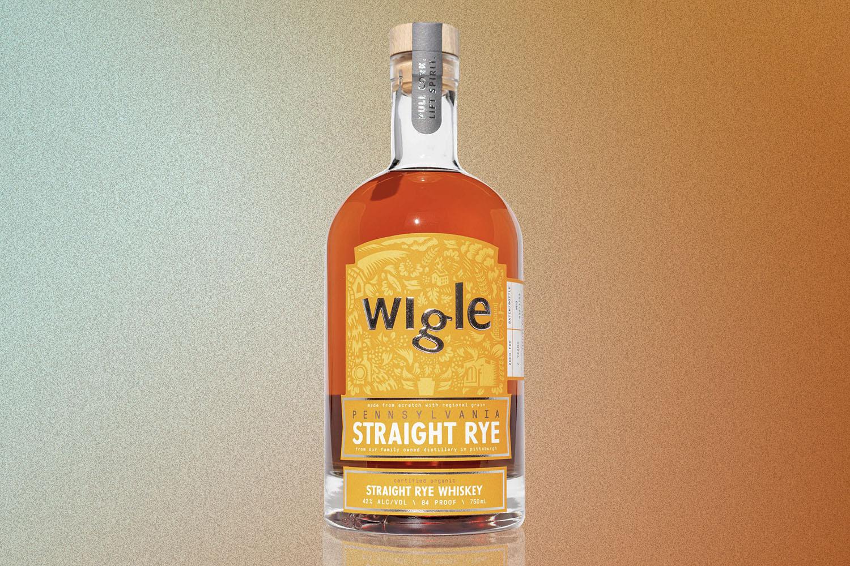 wigle straight rye whiskey