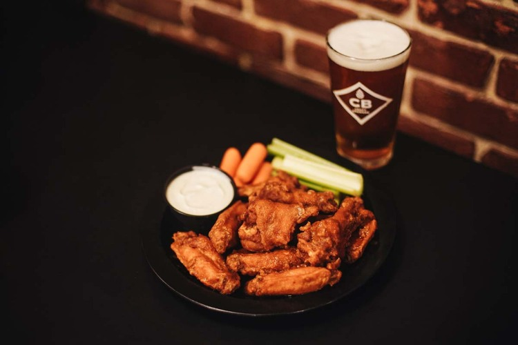 The wings at Duff's Famous Wings remain a classic on the Buffalo Wing Trail, photographed in Amherst, New York on December 2, 2018