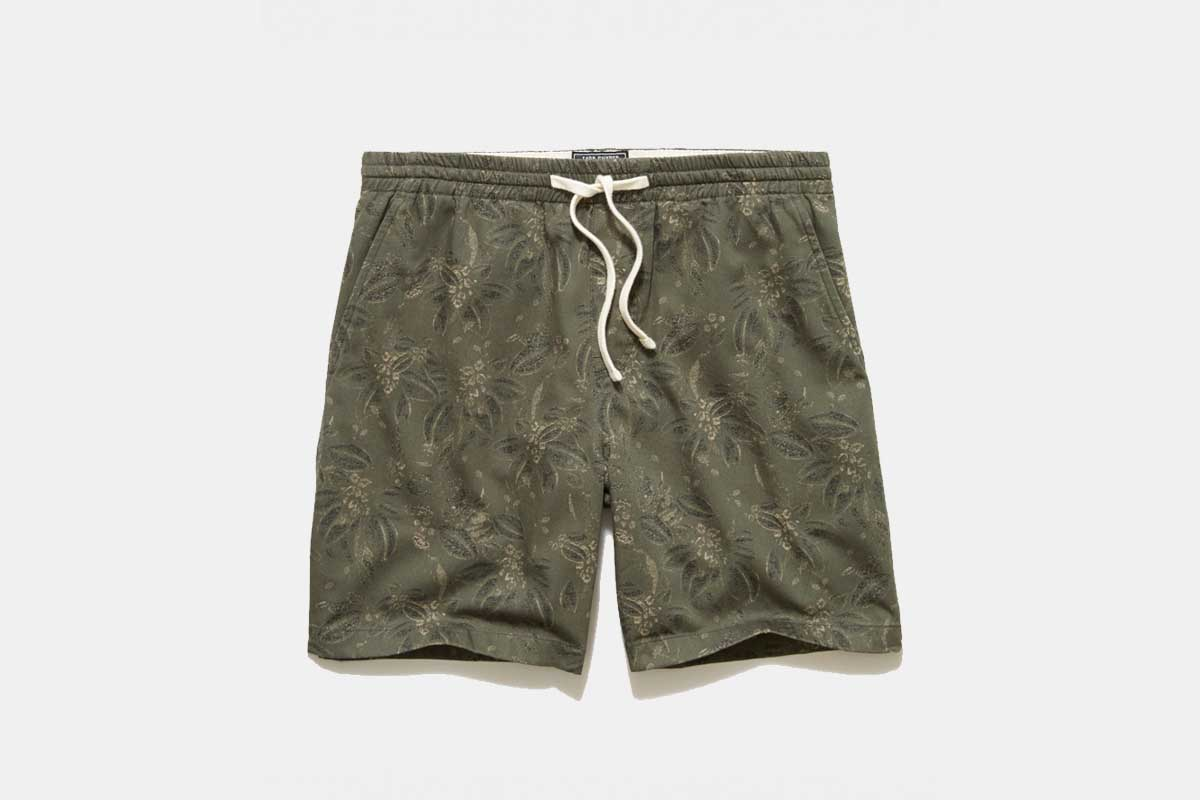 The Italian Floral Weekend Shorts From Todd Snyder