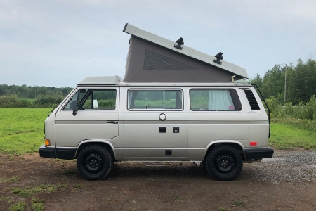 My 1990 Volkswagen Vanagon Westfalia camper van. Here's what you need to know before buying one yourself.