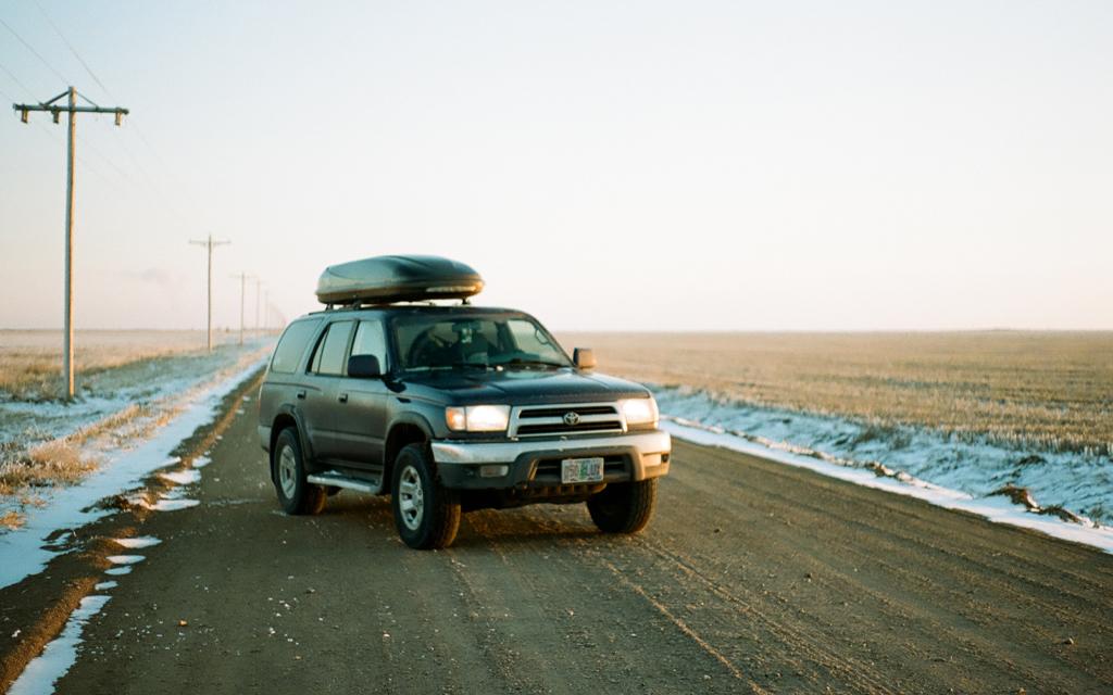 A 1999 third generation Toyota 4Runner in a field in Kansas