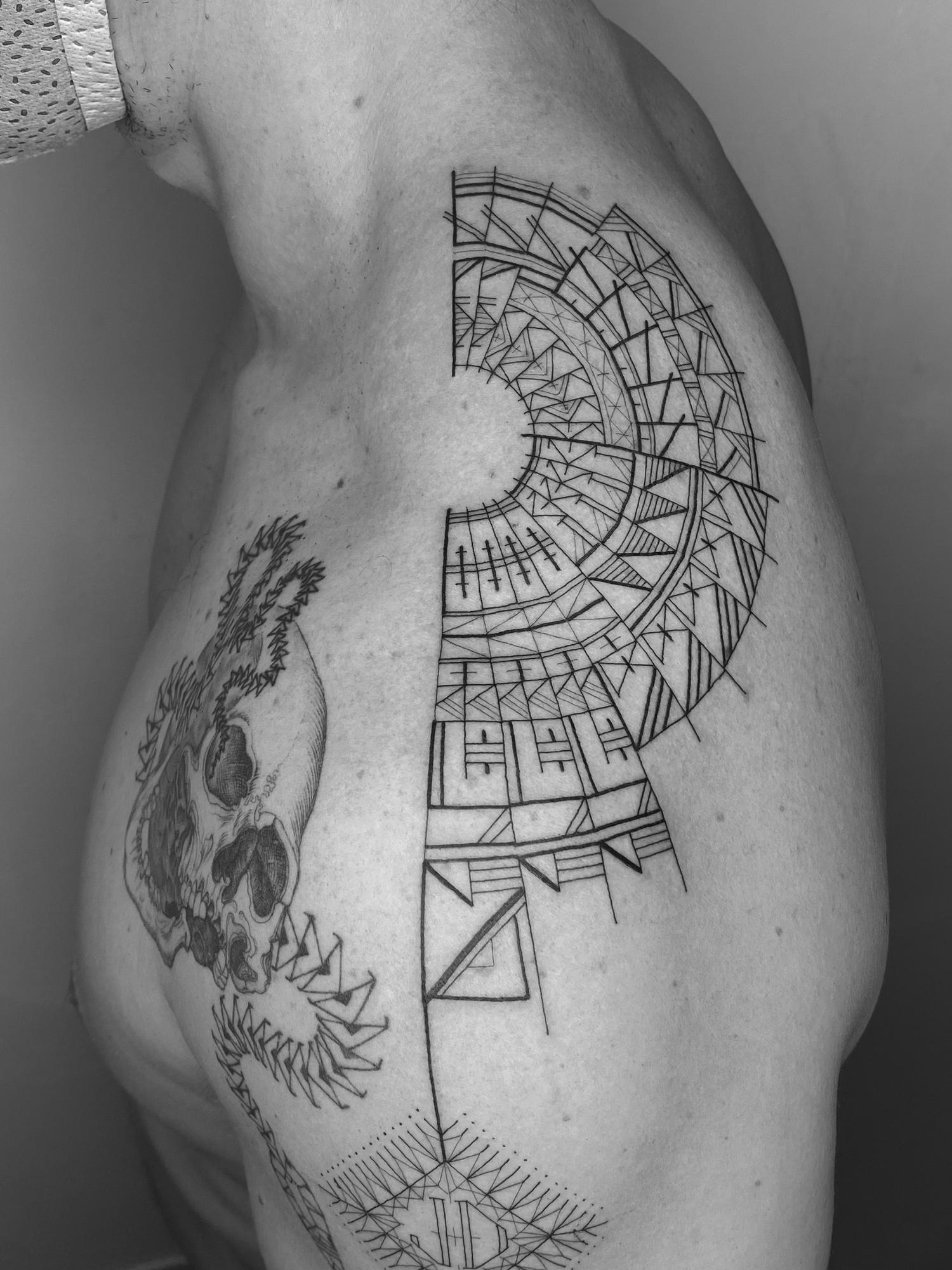 Tattoo by Scott Campbell
