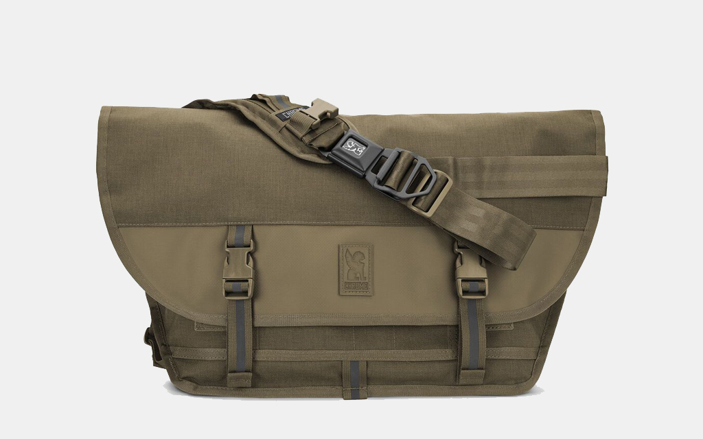 The Chrome Citizen Messenger Bag will last a lifetime of use