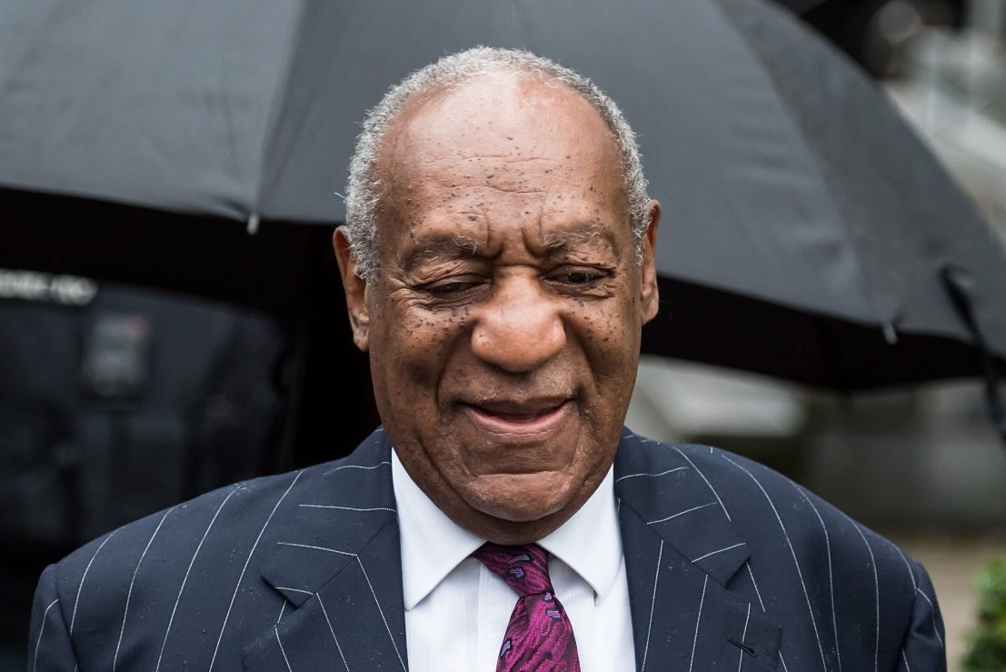 Bill Cosby arrives for sentencing for his sexual assault trial at the Montgomery County Courthouse on September 25, 2018 in Norristown, Pennsylvania. After being recently released from prison, he was told he will not be able to perform at the Comedy Cellar.