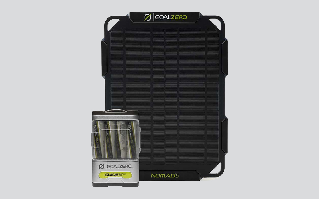Goal Zero Guide 10 Plus Solar Kit