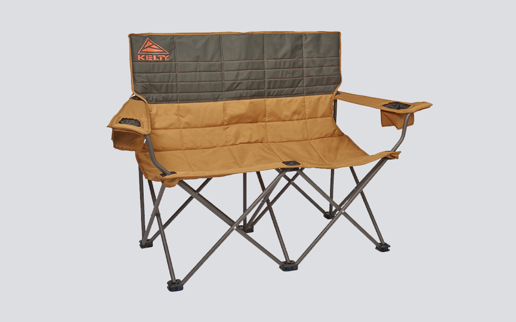 the Kelty Loveseat is the best camping chair for couples