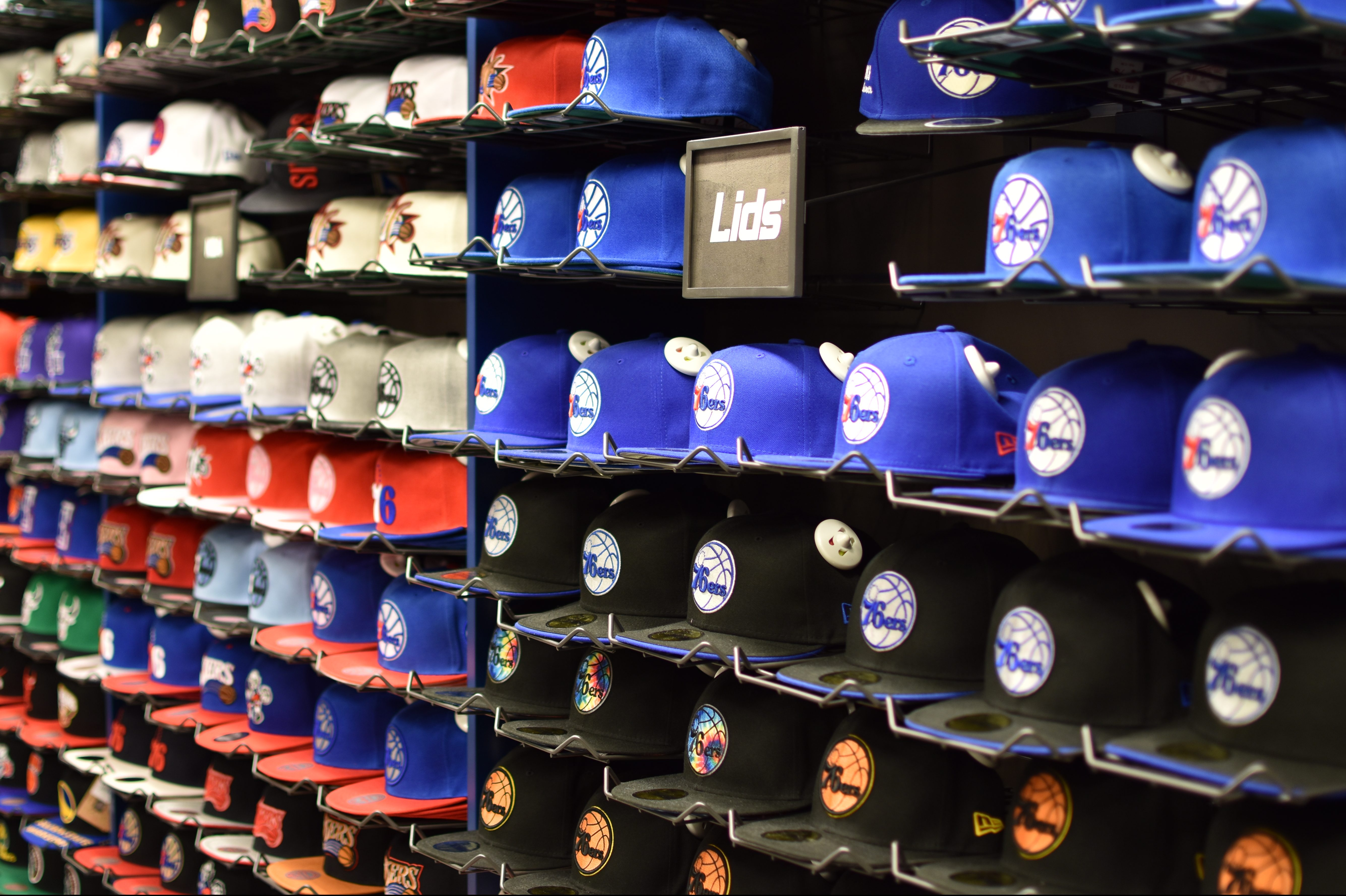 Lids is home to hats