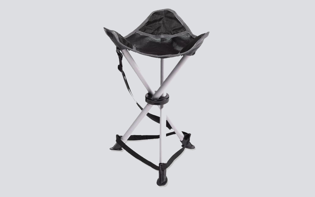 The REI Co-op Trail Stool is the best camping stool for the outdoors