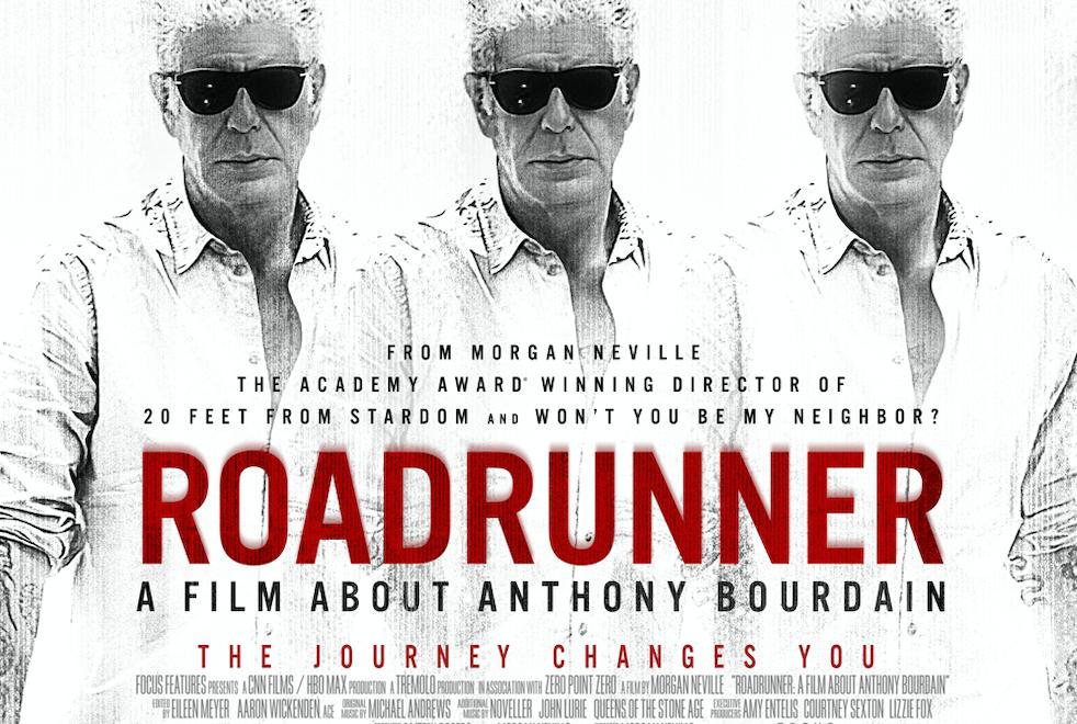 """The poster for """"Roadrunner"""""""