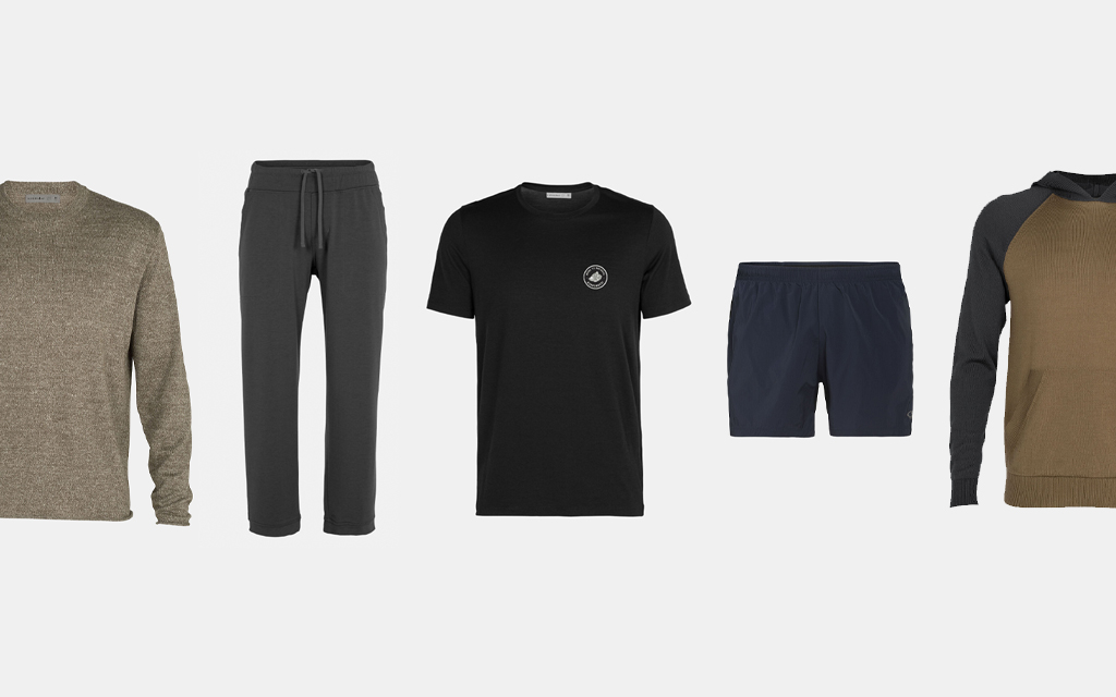 Men's merino wool apparel from Icebreaker. The sustainable brand is throwing a huge summer sale on their gear.