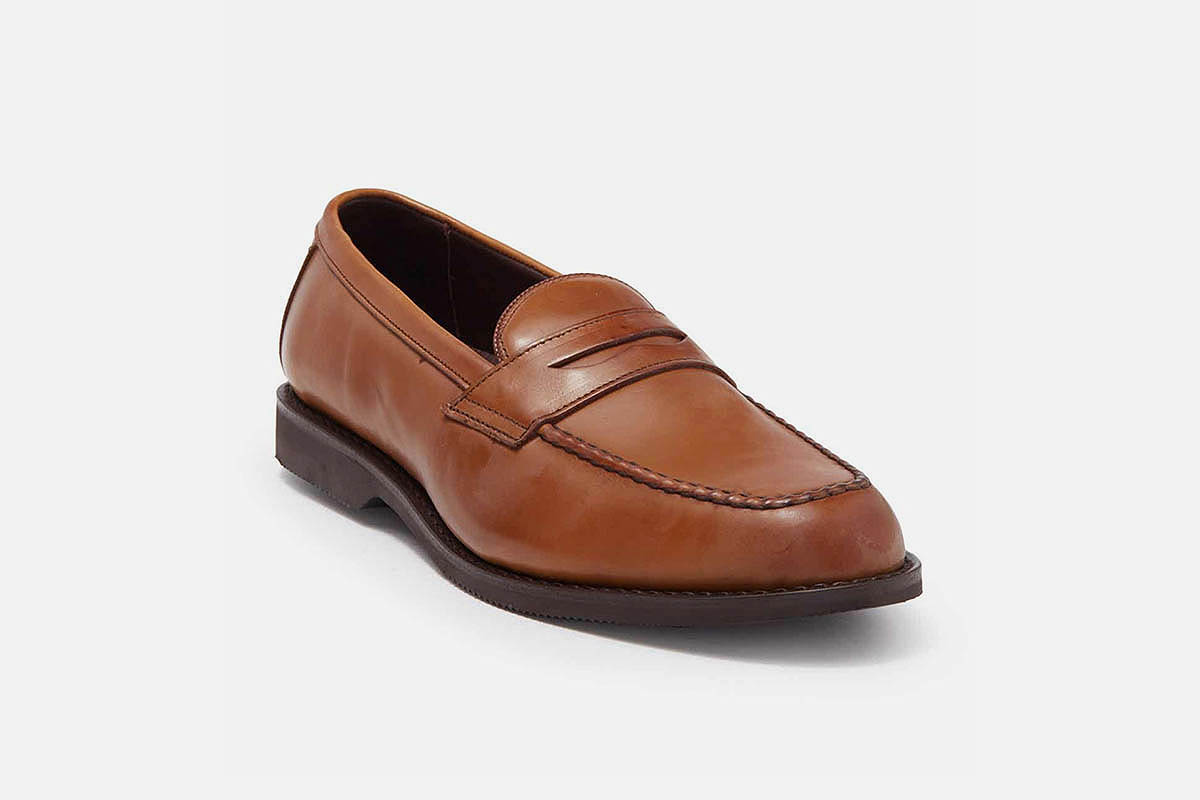 Houston Leather Penny Loafer by ALLEN EDMONDS, now on sale at Nordstrom Rack