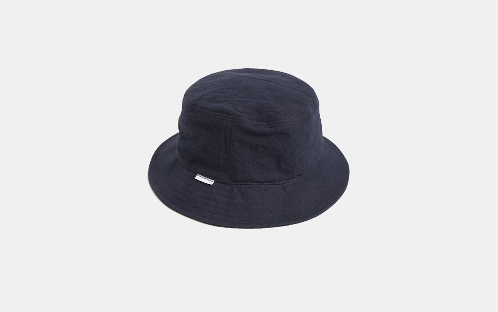American Trench Bucket Hat in Navy