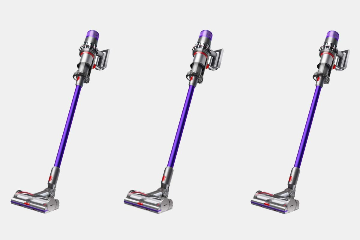 The Dyson V11 Animal, a cordless vacuum that is currently $120 off at Walmart in a refurbished version.
